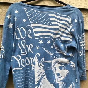 "Glima Tops - Patriotic "" We the People "" Top"